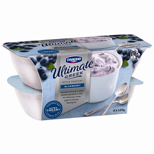 Danone Greek Yoghurt Blueberry
