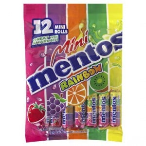 Mentos Fruit Chews Rainbow Mini's