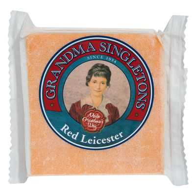 Singletons Red Leicester Cheese