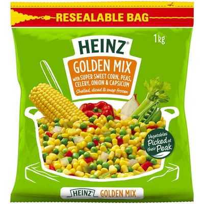 mom70876 reviewed Heinz Golden Mixed Vegetables