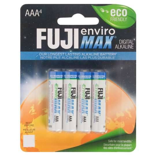 Fuji Digital Alkaline Aaa Batteries