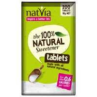 Natvia Sweetener Tablets 100% Natural