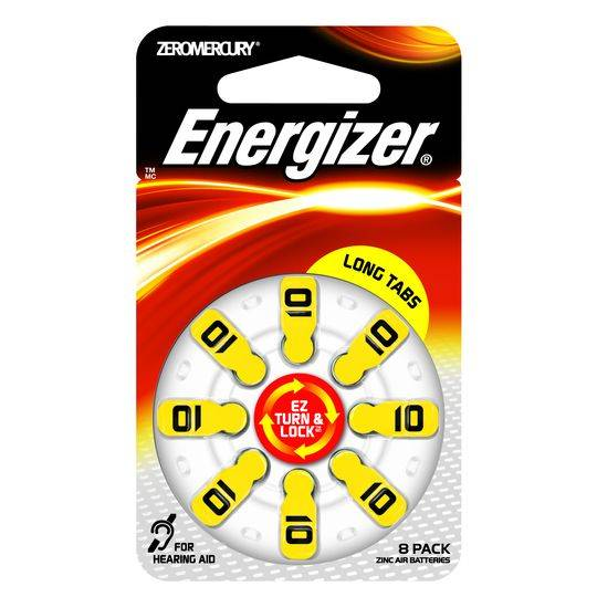 Energizer 10 Ez Turn & Lock