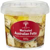 Geoff Jansz Australian Marinated Fetta Cheese