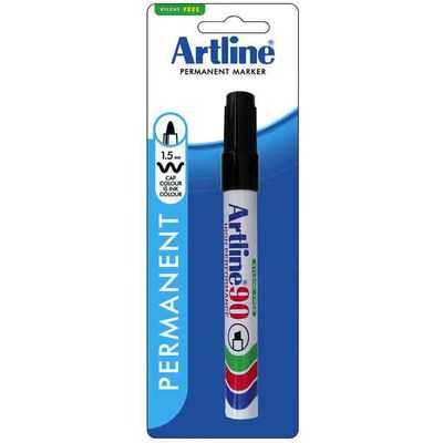 Artline Permanent Marker 90 Black