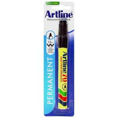 Artline Permanent Marker 70 Black