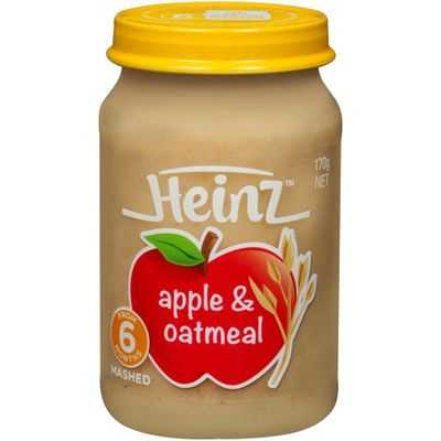 Heinz Mashed Food 6 Months Apple & Oatmeal