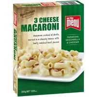 On The Menu Three Cheese Macaroni