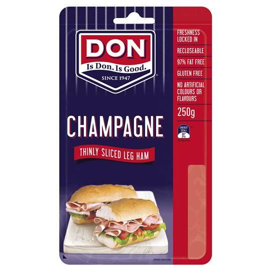 Don Ham Shaved Champagne