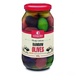 Sandhurst Olives Rainbow Bella