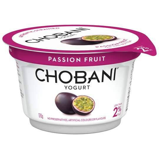 Chobani Low Fat Passionfruit Yoghurt