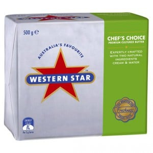 Western Star Unsalted Butter Chef's Choice
