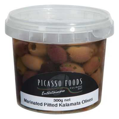 Marinated Pitted Kalamata Olives