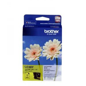 Brother Printer Ink Lc39y Yellow