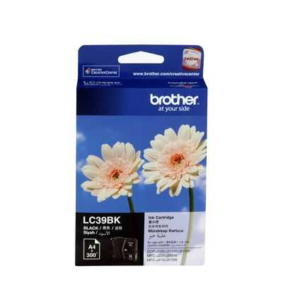 Brother Printer Ink Lc39bk Inkjt Black