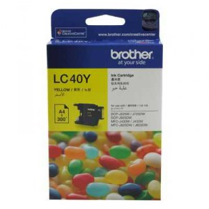 Brother Printer Ink Lc40y Yellow