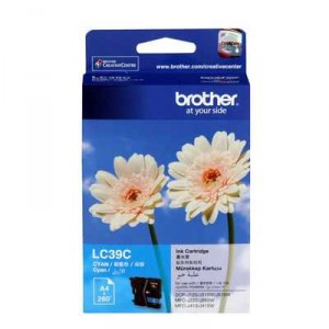 Brother Printer Ink Lc39c Inkjet Cyan