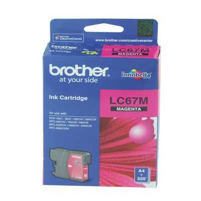 Brother Printer Ink Lc67m Magenta