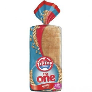 The One Tip Top Toast Bread White