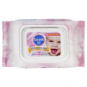 Curash Wipes Travel Pack