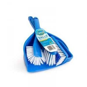 Geelong Brush Value Dust Pan Combo Set