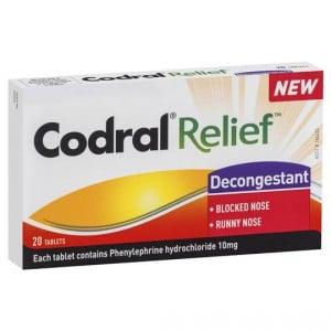 Codral Relief Decongestant