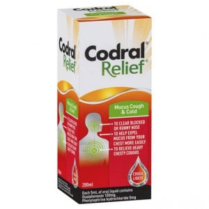 Codral Relief Mucus Cough & Cold
