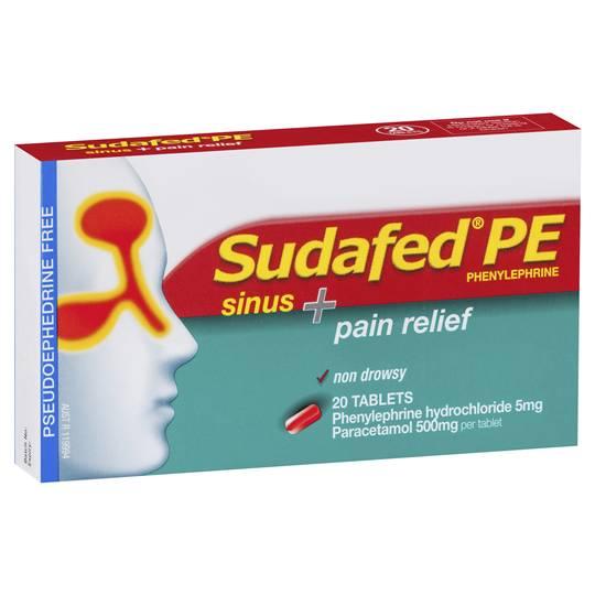 Sudafed Pe Sinus & Pain