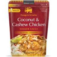 Passage To Sri Lanka Simmer Sauce Coconut & Cashew Chicken