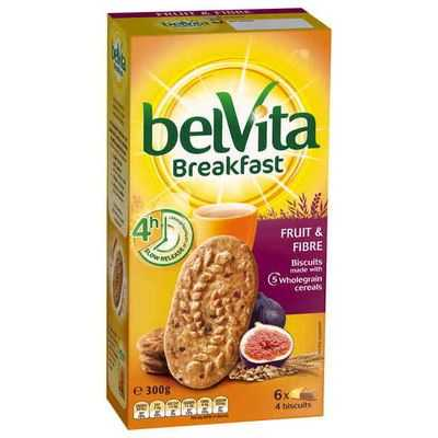 Belvita Fruit & Fibre Breakfast Biscuits