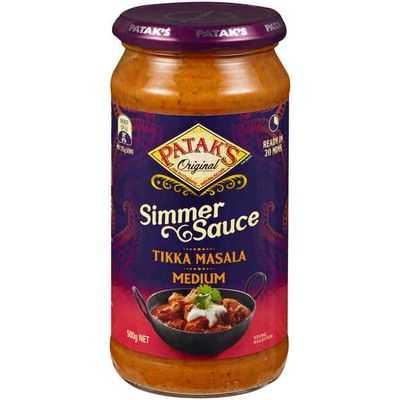 Pataks Simmer Sauce Tikka Masala