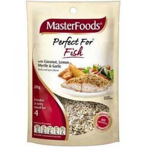 Masterfoods Seasoning Lemon Perfect 4 Fish