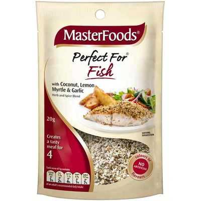 Masterfoods Seasoning Lemon Perfect 4 Fish
