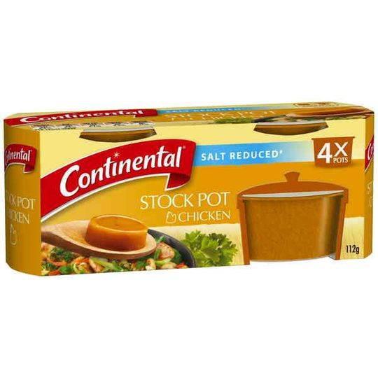 Continental Stock Pot Salt Reduced Chicken