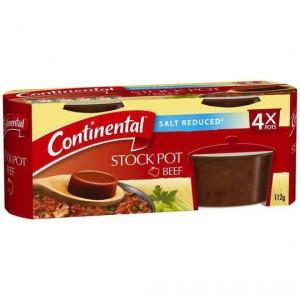 Continental Stock Pot Salt Reduced Beef