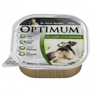 Optimum Adult Dog Food With Chicken Rice & Vegetables