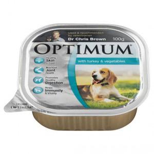 Optimum Adult Dog Food Turkey & Vegetables