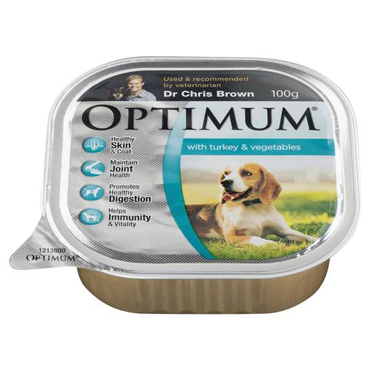 Optimum Adult Dog Food Turkey & Vegetables