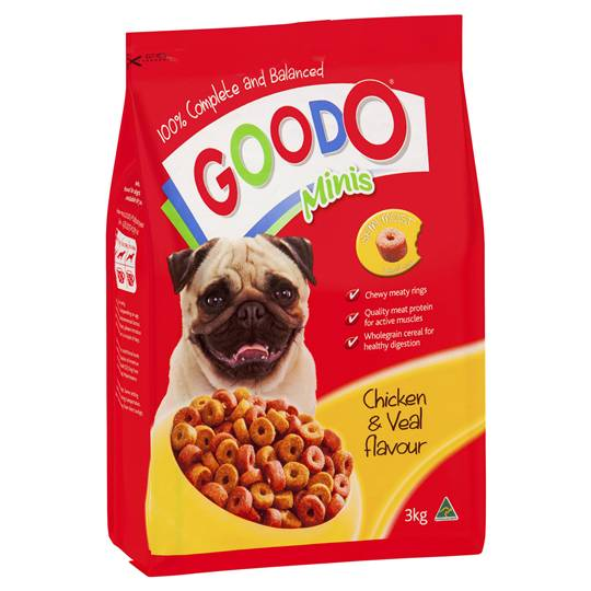 Good-o Adult Dog Food Minis Chicken & Veal