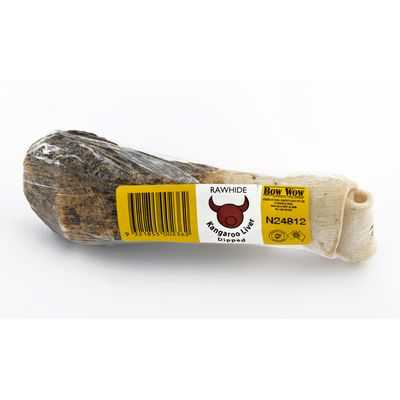 Bow Wow Treat Liver Dip Knot Bone Large