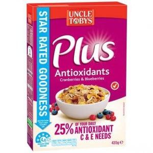 Uncle Tobys Plus Antioxidant