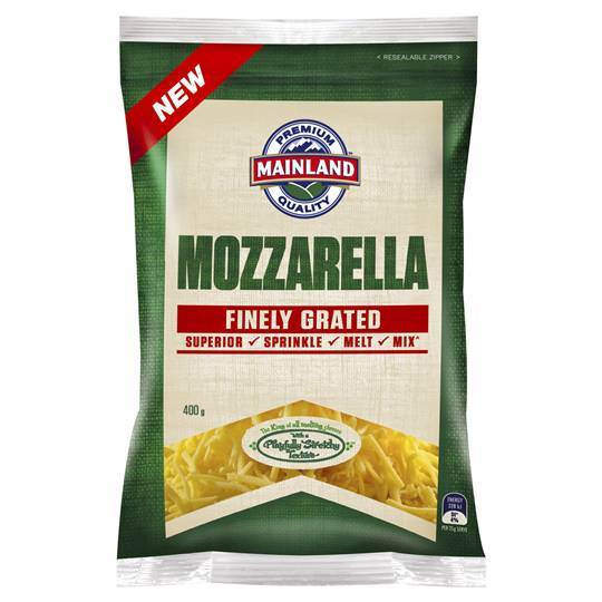 Mainland Finely Grated Mozzarella