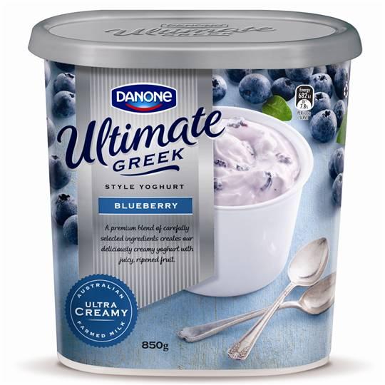 Danone Full Fat Yoghurt Greek Style Blueberry