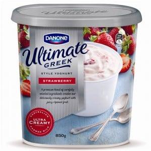 Danone Full Fat Yoghurt Greek Style Strawberry