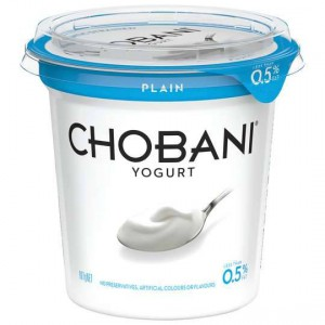Chobani No Fat Plain Yoghurt