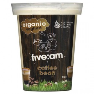 Five:am Organic Coffee Bean Yoghurt