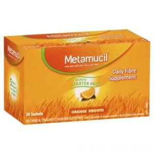 Metamucil Daily Fibre Supplement Orange Smooth