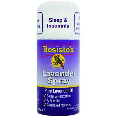 Bosistos Lavender Oil Spray