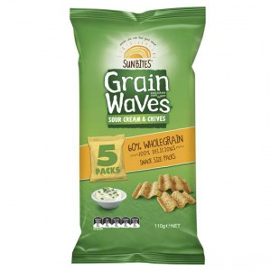 Sunbites Grain Waves Sour Cream & Chives