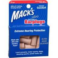 Macks Ear Plugs Ultra Foam